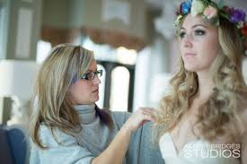 special day bouquet flower crown on site hairstylist on location hairstylist on