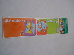 Eureka Mickey Mouse Clubhouse Handy Helpers Job Chart Mini Bulletin Board Set