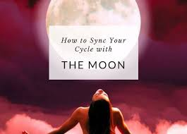 Menstrual Cycle Moon Chart How To Sync Your Menstrual Cycle With The Moon Yoga Goddess