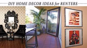 Small Picture 8 EASY HOME DECOR REVAMP IDEAS for RENTERS 2016 YouTube