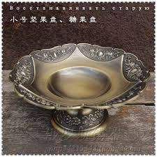 Decorative Trays And Bowls Diameter 100100cm small luxury Vintage fruit plate decorative fruit 2
