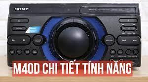 Dàn âm thanh Sony M40D - Chợ Sắt Hải Phòng