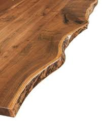 Image Rustic Pictured Above Estevan Live Edge Occasional Tables Countryside Amish Furniture What Is Live Edge Furniture Countryside Amish Furniture