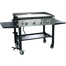 blackstone outdoor griddle 36 inch propane cooking station 2 burner flat top gas grill
