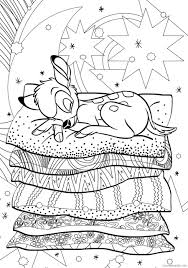 ♥ by purchasing this coloring book you can print it at home and color. Bambi Coloring Pages Cartoons Bambi Disney For Adults Printable 2020 1015 Coloring4free Coloring4free Com