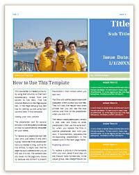 newsletter template for pages newsletter template 4 pages word save word templates