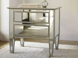 Pottery Barn Living Room Mirrored Bedside Table Cdaafdd