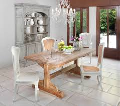 farmhouse dining room furniture impressive. Impressive Hutches Vogue Other Metro Shabby Chic Dining Room Decorating Ideas With Cabinet Chandelier Farmhouse Table Furniture