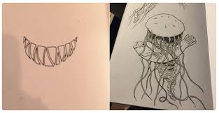 watch how this artist gets creative in her plete this drawing book s