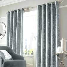 velvet curtains world market curtain charming silver grey with brushed nickel rod decorating a small bedroom