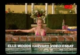 important life lessons we learned from elle woods in legally  3 video essays are an appropriate substitution for written essays