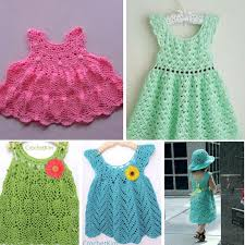 Baby Patterns Impressive 48 Adorable Crochet Baby Dress Patterns Free AllFreeCrochet