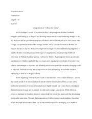 literary response barn burning docx elena enioukova dr 6 pages essay 1 a rose for emily docx