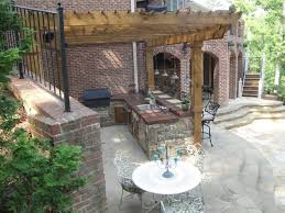 patio with pool and grill. Plain Pool Outdoor Kitchen Bar And Grill Traditionalpatio Intended Patio With Pool And I