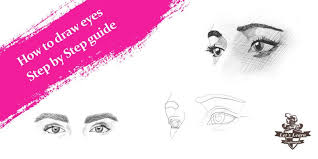 How To Draw Eyes Step By Step How To Draw Eyes