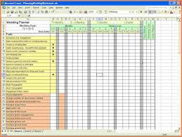 Wedding Planning Excel Spreadsheet Uk Checklist Budget