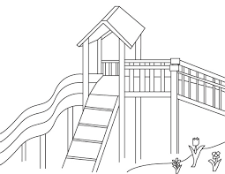 Infrastructure Canada Kidfrastructure Colouring Pages Park
