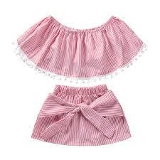 Little Girl Clothes Designer Amazon Com Dcohmch Toddler Girl Clothes Baby Girls Cute