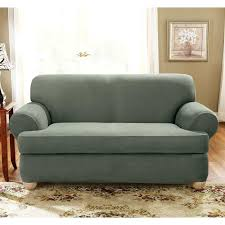 t cushion slip covers sure fit stretch suede sofa 2 piece slipcover enlarge individual couch slipcovers t cushion