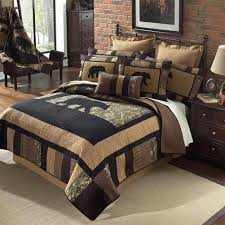 Camo Bear Quilt Collection - FREE Gift Card with Purchase: Cabin Place & Camo Bear Quilt Ensembles Adamdwight.com