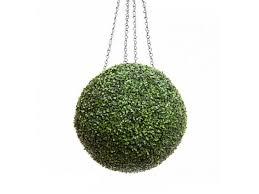 Decorative Boxwood Balls Decorative Hanging Balls Made Of Boxwood WindowBox 72
