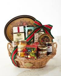 deluxe oval gift basket