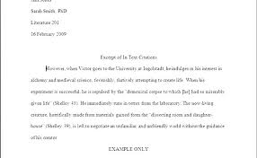Works Cited Example Research Paper Outline Template Formatting Example Of Citations And