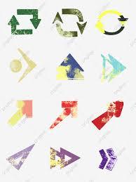 Decorating Arrow Of Light Arrows Minimalistic Set Of Arrows Elements Fantasy Wind Arrow