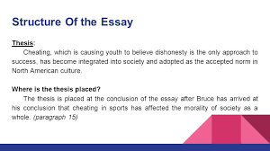 and the best cheater win by harry bruce ppt video online structure of the essay thesis