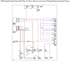 i have a 2000 suzuki grand vitara i 2000 Suzuki Grand Vitara Wiring Diagram 2000 Grand Vitara Electric Diagram