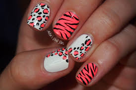 40 Trendy Neon Nail Art Designs Nail Design Ideaz Pink Nail Art ...