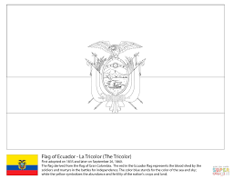 Comoros Flag Coloring Pages Of Dominican Republic Page Xmoeme