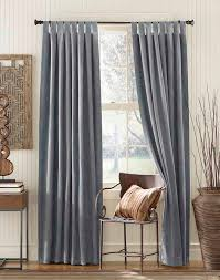 grey curtain panels gray and white blackout curtains cameron blue microsuede tab top curtain