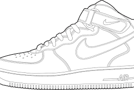 air jordan shoes coloring pages inspirational literarywondrous sneakers coloring pages nike page for kids free of