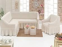 Чехлы на угловой диван и одно кресло - интернет магазин Анита