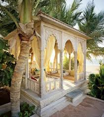 Decorating: Colorful Moroccan Outdoor Spaces - Moroccan Outdoor Furniture  Moroccan  Style Furniture