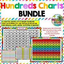 Small Hundreds Chart Printable 100s Chart Hundreds Chart Printables And Projectable