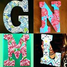wood letter painting ideas simple template wooden letter ideas wood