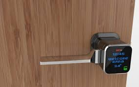 electronic front door lockFront Door Lock How to Put Your Name on It  Interior Design