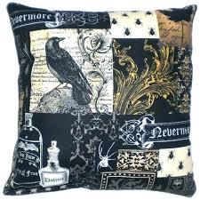 raven bedding set raven bedding set ravens bedding raven decorative throw pillow steampunk home decor bedding ravens crib bedding raven bedding set
