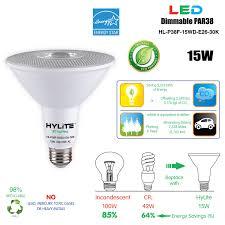 Hylite Eco Lighting Hylite Led Lighting Hl P38f 15wd E26 30k Energy Star Par38