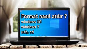 Bilgisayara Format Nasıl Atılır? Windows 7-10 - TeknoThor