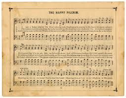 printable vintage sheet music vintage sheet music the happy pilgrim the graphics fairy