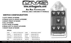 black 7 switch series rocker avs product description
