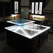 glass bartop countertop