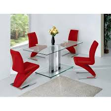 inspiring glass dining table and chairs set glass dining table set 4 chairs wildwoodsta
