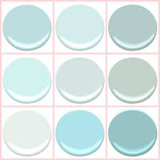 Paint Colors Turquoise Benjamin Moore Birds Egg Clear Skies Gossamer Blue Icey Moon