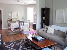 living room ideas grey small interior: living room interior and dining living room interior and dining idea with rectangle combo shaped grey living room ideas living room small living room ideas console decorations lamps theater portland blue paint color table sets valan