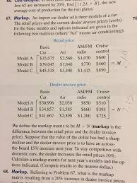 find invoice price solved lem 65 are increased by 20 find 12a b the n