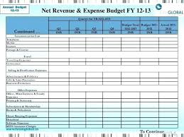Monthly Home Budget Template Household Expenses Template Household Expense Budget